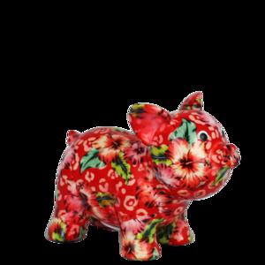 Pomme pidou Babette - Rood met bloemen