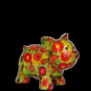 Pomme pidou Babette - Groen met bloemen