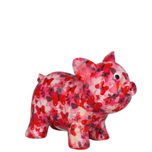 Pomme pidou Babette roze / rood
