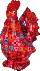 Maurice - Rood met kleine bloemen