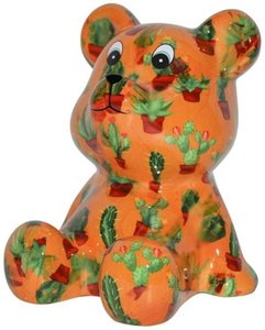 Cyril - Oranje met cactussen
