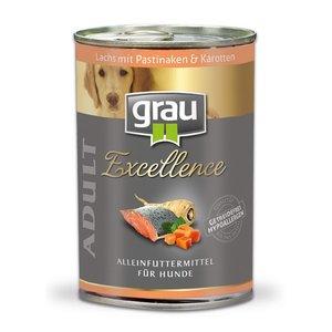 Grau blikvoer zalm met pastinaak en wortel 400gr