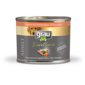 Grau blikvoer Zalm met pastinaak en wortel 200gr