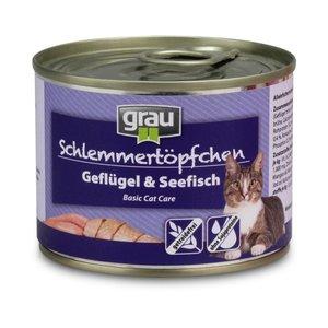 GRAU Gevogelte en zeevis 200 gr.