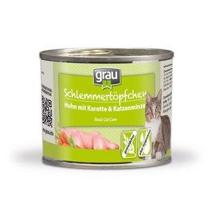 Grau kat gourmet Kip met wortel en kattenkruid 200 gr.