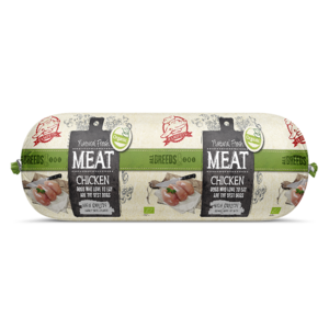 Natural Fresh Meat Biologisch Honden Worst Kip 600 gr .