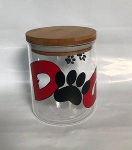 Dog koekjes pot glas