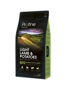 Profine light lam & potatoes 15kg