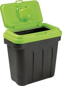 DRY BOX™ 7.5 Voercontainer Zwart/groen deksel