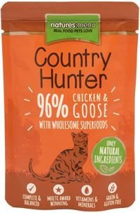 Natures Menu Cat Country Hunter Chicken & Goose 85 gram