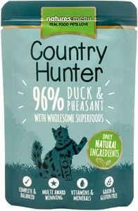 Natures Menu Cat Country Hunter Duck & Pheasant 85 gram