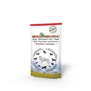 Farmfood Fresh Menu Gestoomd Rund 300 gram