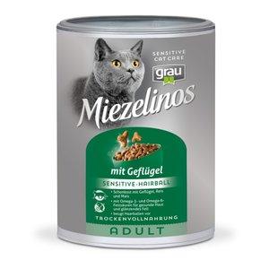 Grau kattenbrok anti haarbal met gevogelte 400gr