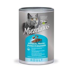 Grau kattenbrok graanvrij met zalm, zeevis en amarant 400kg