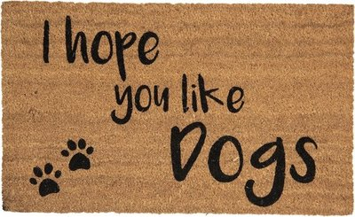 deurmat - I hope you like dogs'