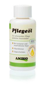 Anibio verzorgingsolie, voor een milde verzorging van geïrriteerde huidplekken