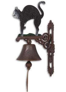 Gietijzer Klassieke deurbel - Kat