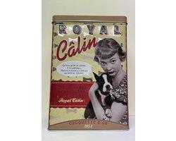 Dog biscuits tin Royal Calin